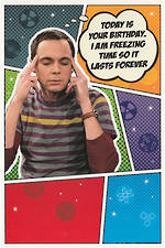 Hallmark Humorous Birthday Card: Sheldon Permanent