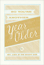 Hallmark Humorous Birthday Card Year Older