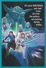 Hallmark Interactive Birthday Card Star Wars Rebels Series