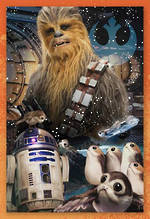 Hallmark Interactive Birthday Card Star Wars Episode VIII Chewbacca