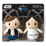 Itty Bitty Star Wars Han & Leia Set