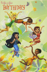 Hallmark Badge Candy Girl Disney Fairies
