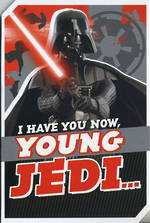 Birthday Card Star Wars Darth Vader Juvenile Boy
