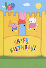 Hallmark Badge Candy Boy Peppa Pig