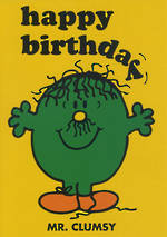 Kids' Birthday Card: Mr Men Mr Clumsy