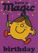 Kids' Birthday Card: Mr Men Little Miss Magic