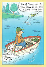 Hallmark Shoebox Birthday Man Fishing