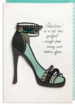 Hallmark Signature Female Birthday Shoe
