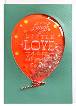Hallmark Signature Birthday Glitter Balloon