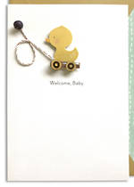 Hallmark Signature New Baby Toy Duck