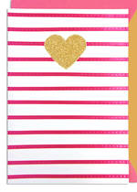 Hallmark Signature Birthday Female Gold Heart