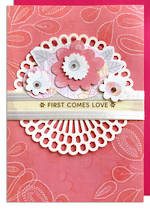 Hallmark Signature Engagement First Comes Love