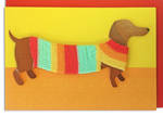 Hallmark Signature Birthday Sausage Dog
