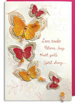 Hallmark Signature Mum Birthday Butterflies