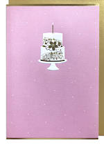 Hallmark Signature Wife Birthday Pink Cake
