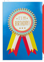 Hallmark Signature Birthday Badge