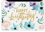 Hallmark Signature Birthday Female Flowers
