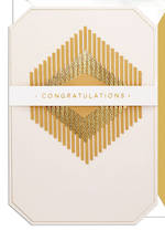 Hallmark Signature Wedding Congratulations Gold