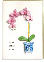 Hallmark Signature Birthday Female Orchid