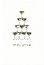 Wedding Card Hallmark Signature Wedding Glasses