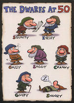 Age Card 50 General 7 Dwarves
