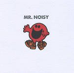 Mr Men Card Mr Noisy