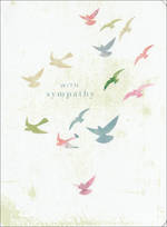 Sympathy Card Colourful Birds