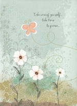 Sympathy Card Thinking of You Butterfly