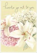 Sympathy Card Thinking of You Hallmark Lily