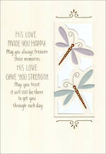 Sympathy Card Loss of Husband