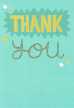 Thank You Card Hallmark Green