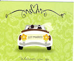 Wedding Card Hallmark Just Married Car