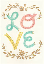 Wedding Card Hallmark Love