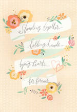 Wedding Card Hallmark Standing Together