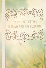 Wedding Card Hallmark The Beginning