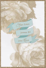Wedding Card Hallmark Two Lives Joined