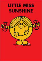 Mini Card Little Miss Sunshine Red