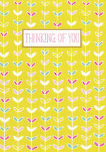 Sympathy Card Thinking of You Jessica Hogarth