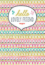 Special Friend Card: Jessica Hogarth Lovely Friend