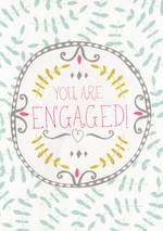 Engagement Card Jessica Hogarth