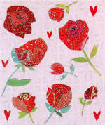 Mini Card: Red Roses