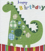 Mini Card Birthday Dinosaur