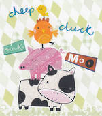 Mini Card: Four Farm Friends