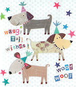Mini Card Waggy Tail Wishes