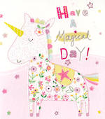 Mini Card Magical Unicorn