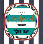 Husband Birthday Card Breton