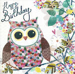 Chroma Birthday Owl