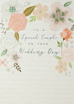 Wedding Card Halcyon Floral