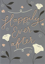 Wedding Card Noted Happily Ever After