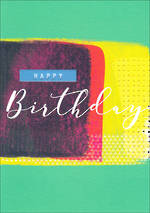 Rio Brights Birthday Paint Print